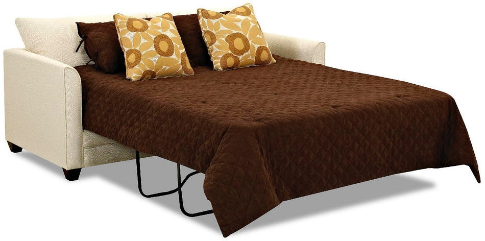 Simple Elegance Queen Sleeper With Memory Foam Mattress 384669  ~ Sofa Sleepers With Memory Foam Mattress