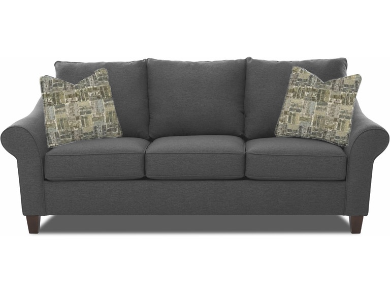 Simple Elegance Living Room Sofa With Pillows 816731 At Talsma Furniture