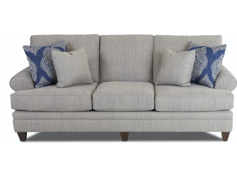Simple Elegance Living Room Sofa With Pillows 705637 At Talsma Furniture