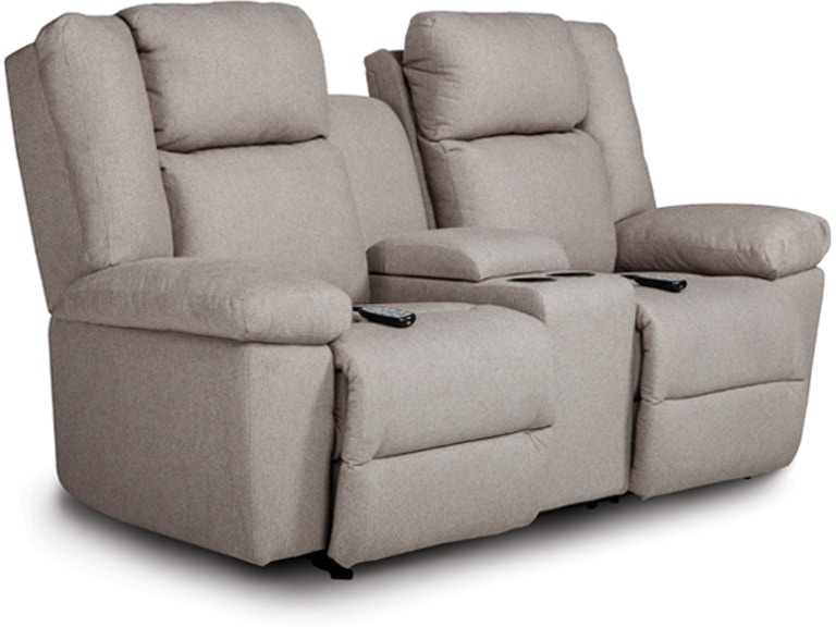 Best Home Furnishings Power Reclining Loveseat With Center Console