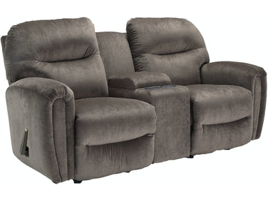 Best Home Furnishings Markson reclining loveseat with console 259764