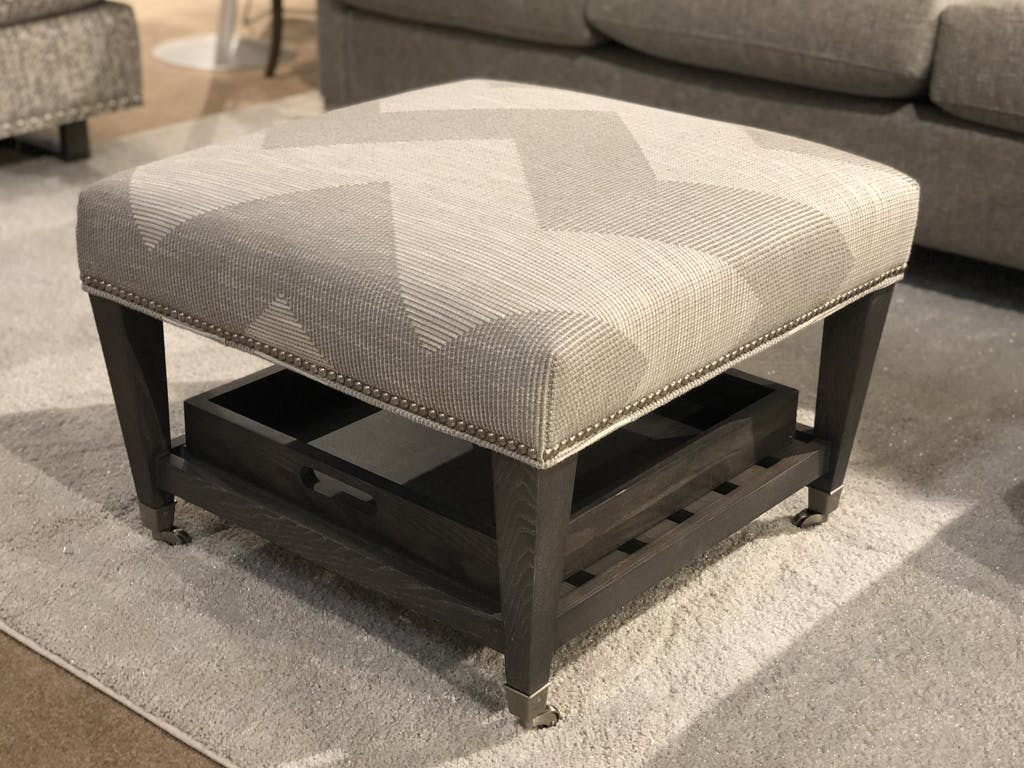 Bassett Cocktail Ottoman 841039 Talsma Furniture Hudsonville Holland Byron Center Grand