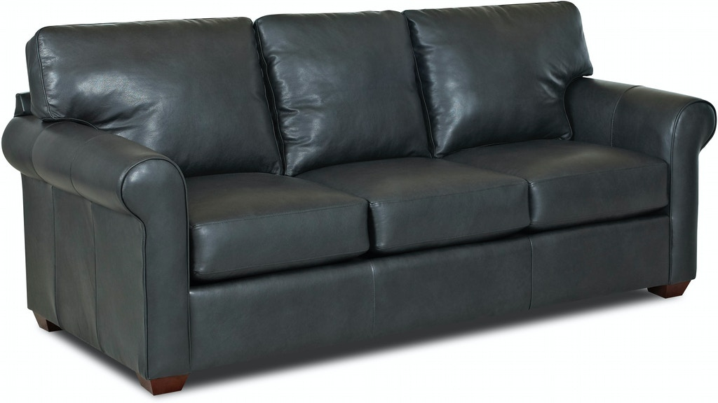 Simple Elegance Leather Sofa 222121 Talsma Furniture