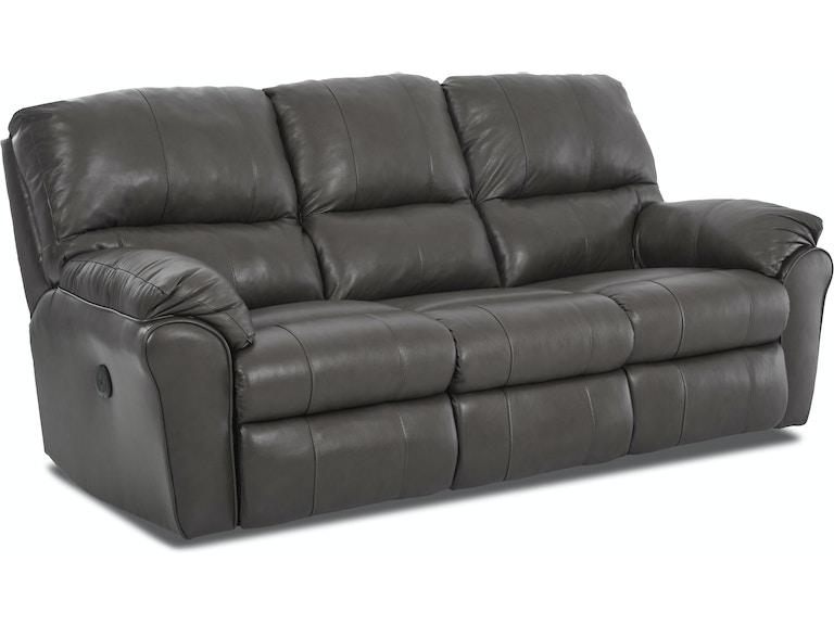 Simple Elegance Triple Reclining Sofa 64703 3rs
