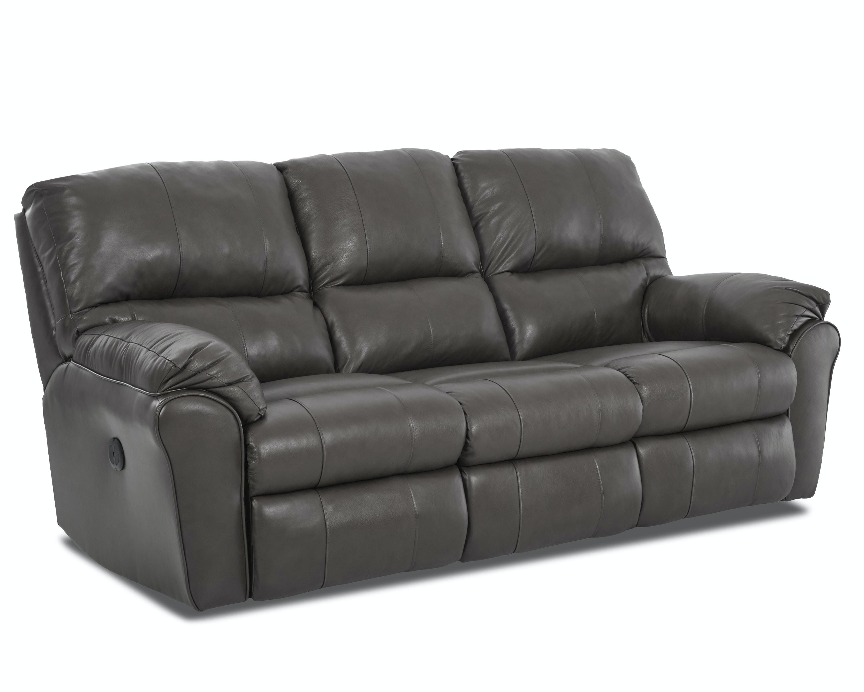 Beautiful Simple Elegance Triple Reclining Sofa 64703 3rs