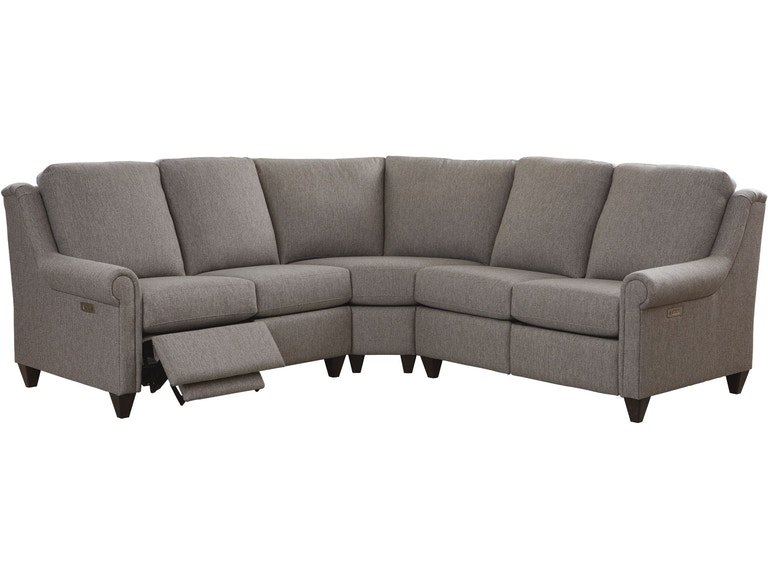 bassett furniture reclining sectional