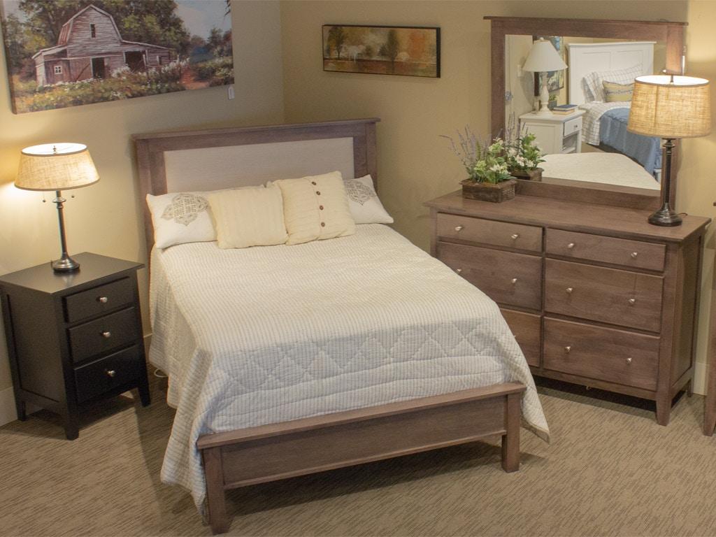Daniel S Amish Amish Full Upholstered Bed 853820 22 27