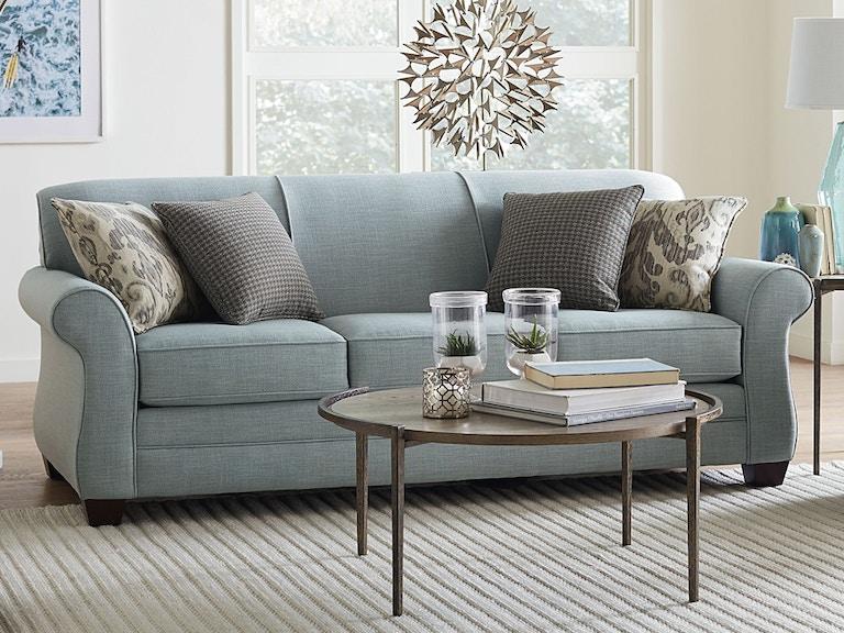 Bassett Sofa With Pillows 849502 Talsma Furniture