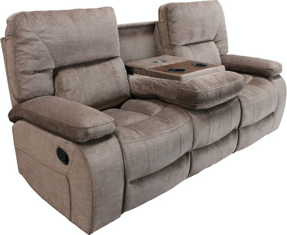 Parker House Reclining Sofa With Drop Down Table 734599