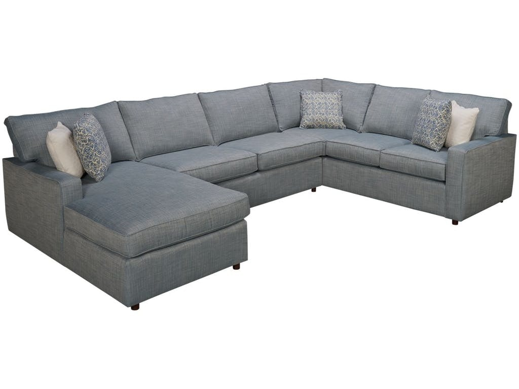 Rowe Living Room Monaco Sectional 651216 13 11 At Talsma Furniture