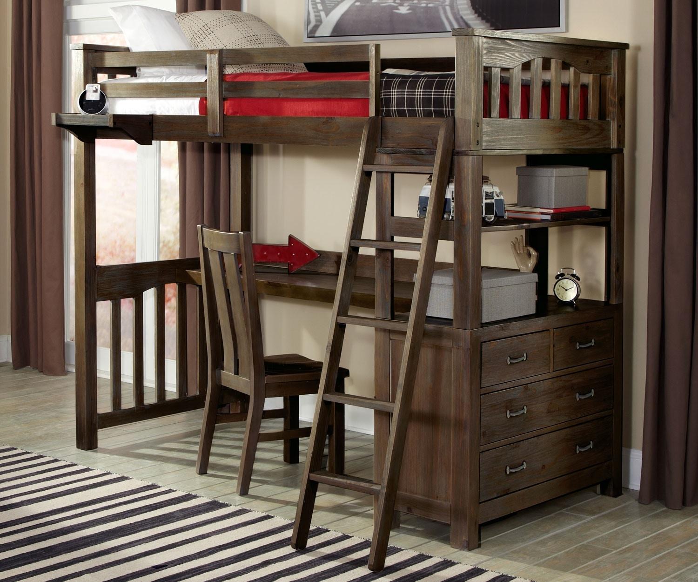 Ne Kids Highlands Twin Loft Bed 546403 Talsma Furniture