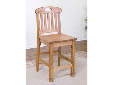 Sunny Designs Sedona Slatback Bar Stool 268058
