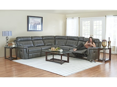 Sectional With 3 Recliners