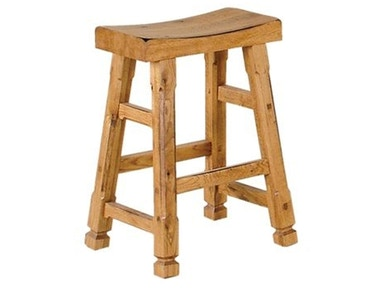 Sunny Designs 24 Inch Saddle Stool 250382