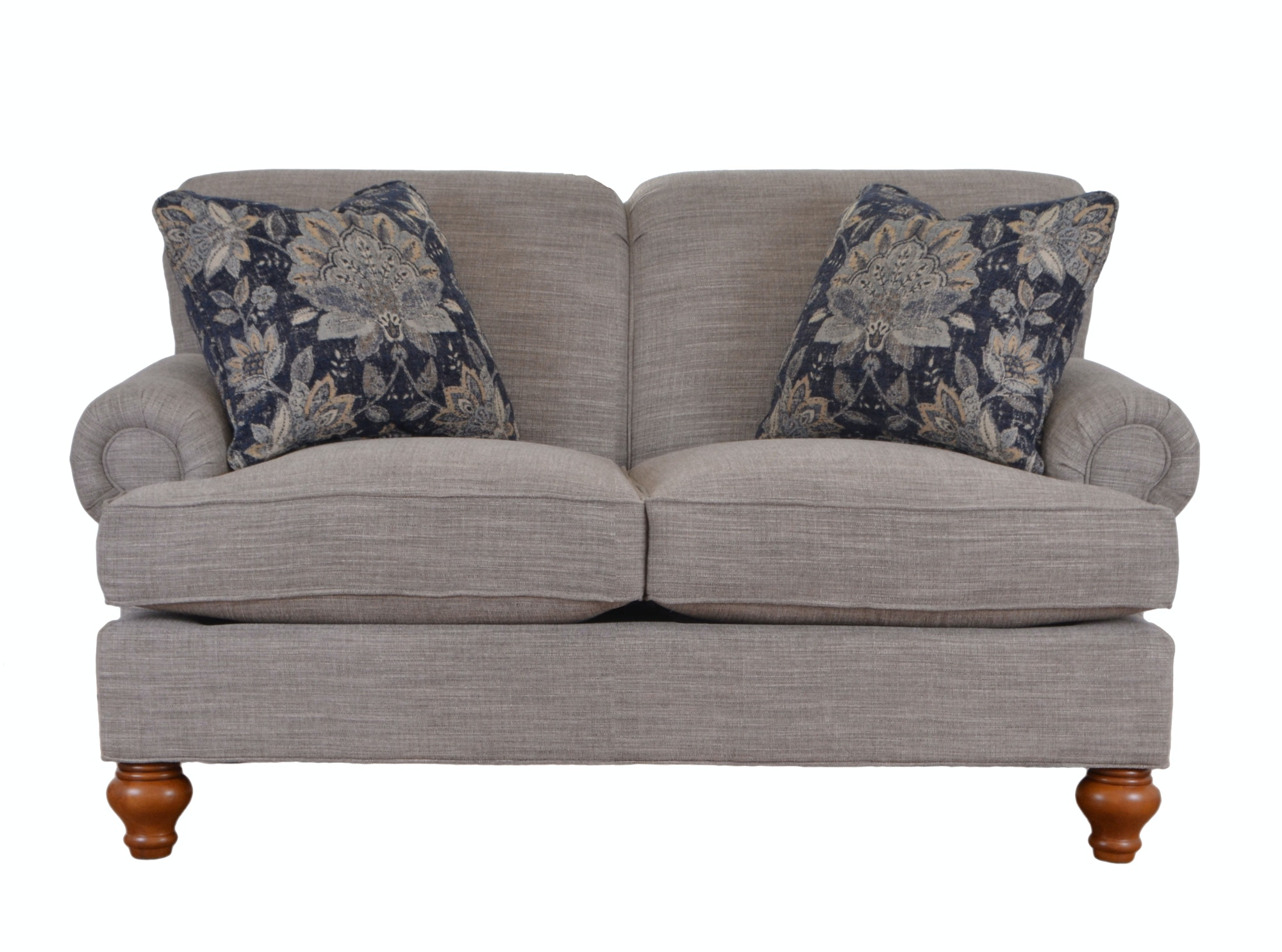 Superb Cozy Life Loveseat With Pillows 738656
