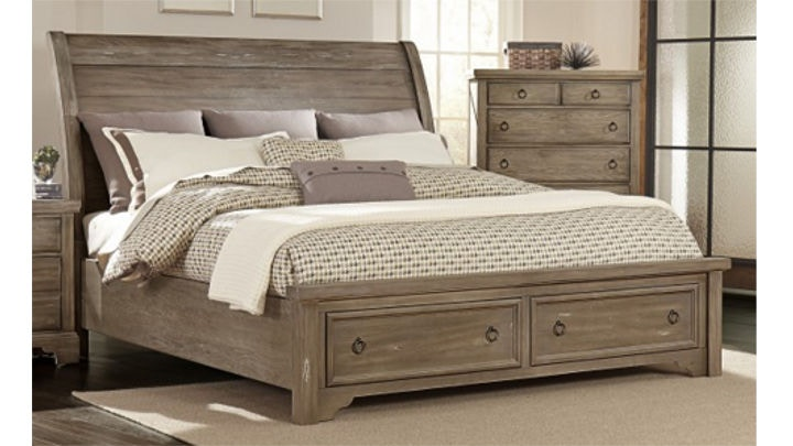 Vaughan-Bassett King Storage Bed 680027 & Vaughan-Bassett King Storage Bed 680027 - Talsma Furniture ...