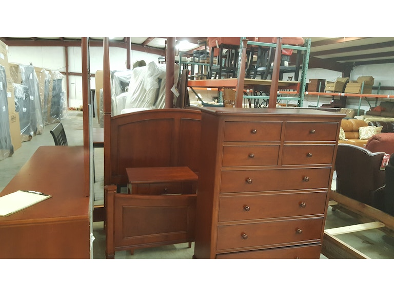 Thomasville Bedroom Set. Thomasville Bedroom Set  Queen bed Dresser Mirror Chest Night Stand 42711