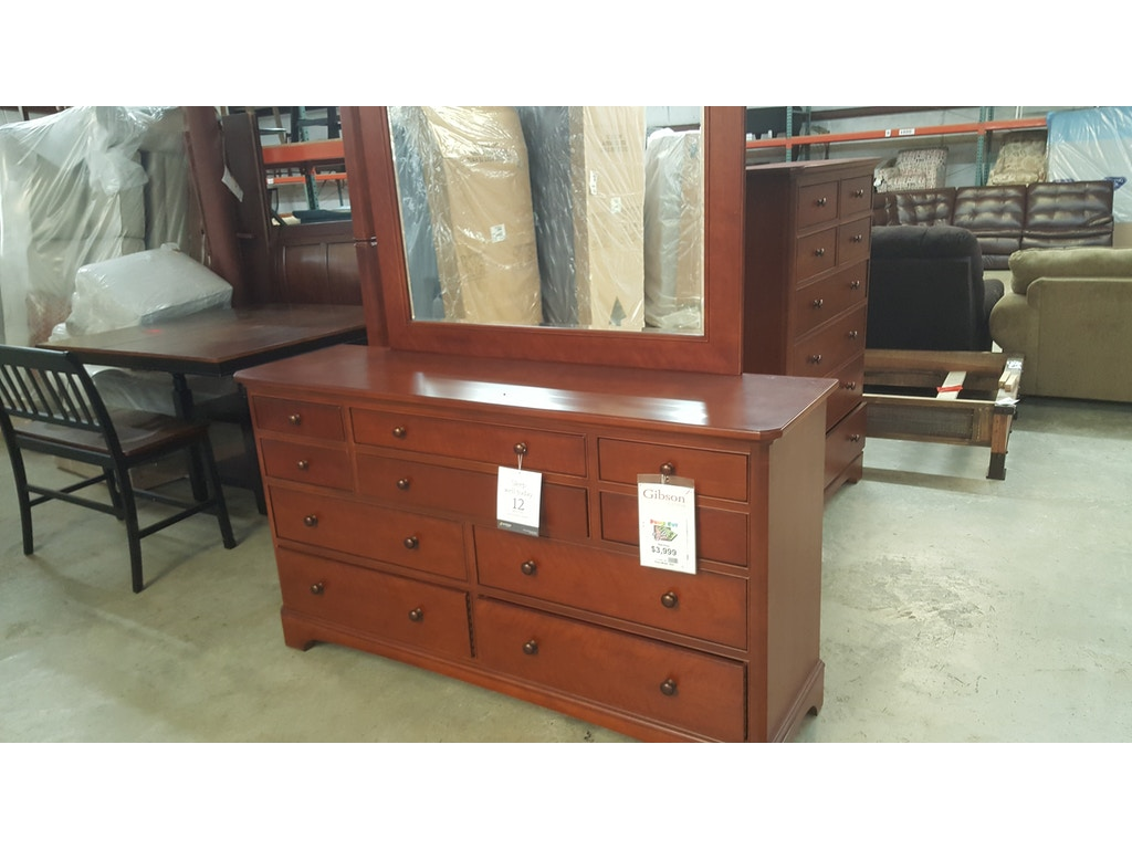 Thomasville Bedroom Set, Queen bed, Dresser, Mirror, Chest & Night ...