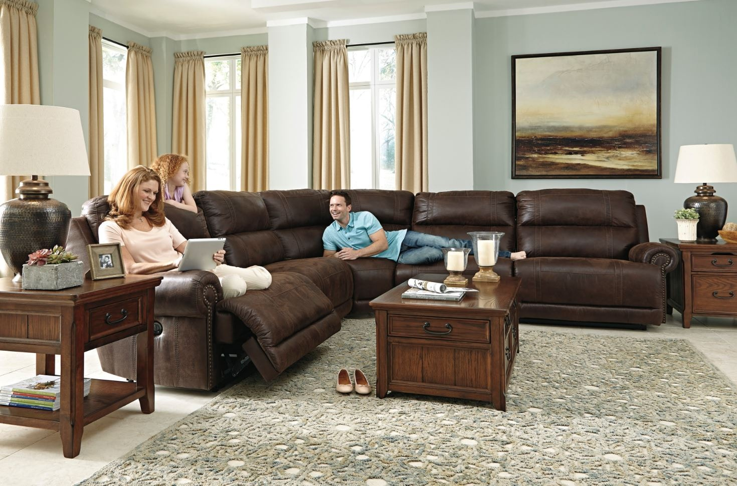 Ashley Sectional 9310141/40/19/77/46