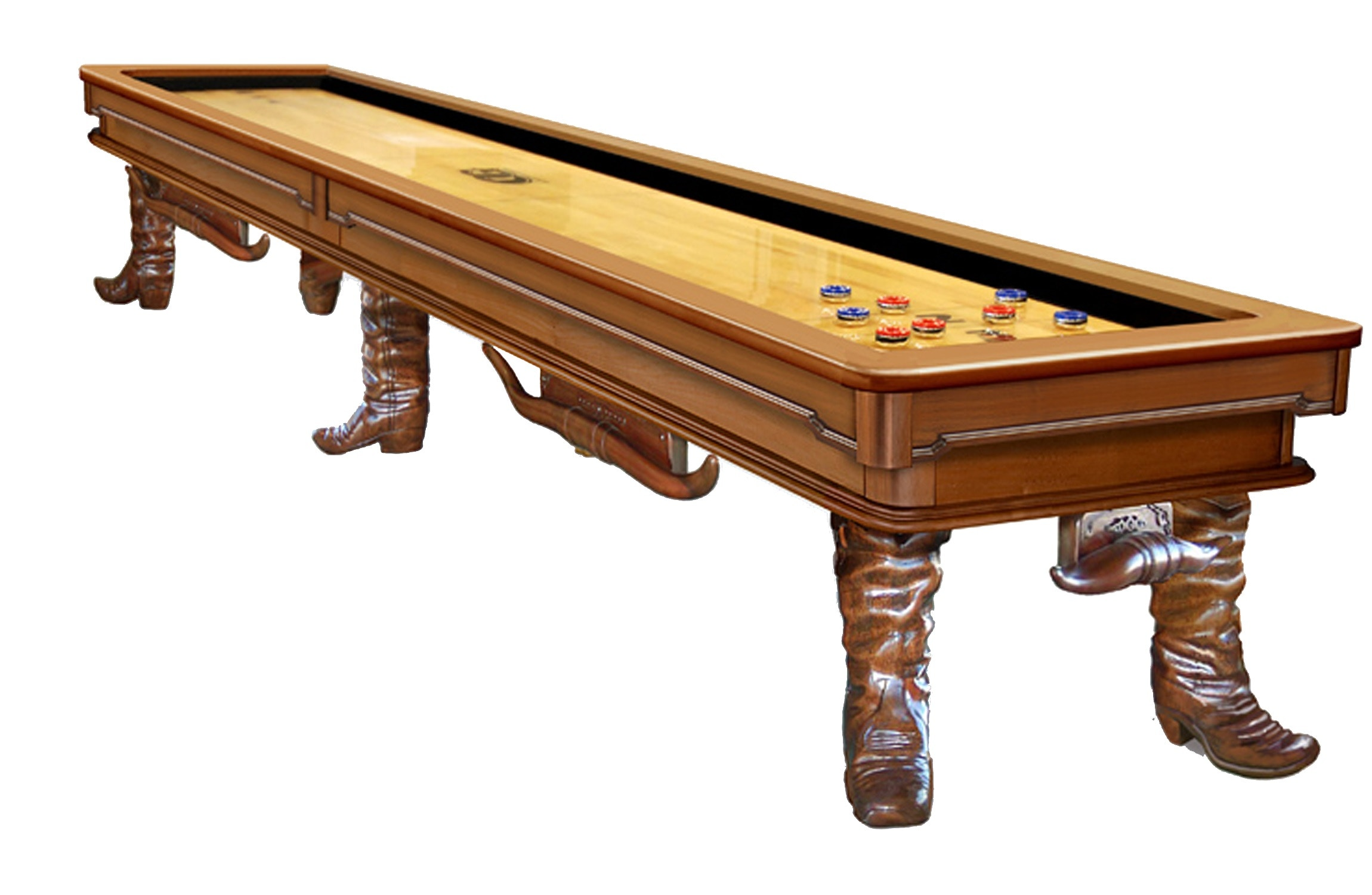 Olhausen Bar And Game Room 12ft Shuffleboard Table Laredo Shuffle Board At  Zing Casual Living