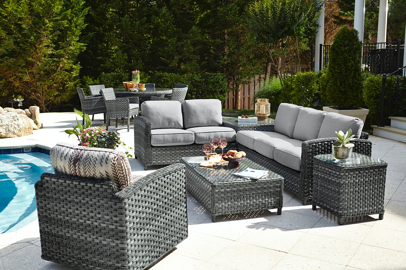 High Quality Beachcraft Lorca Collection Lorca Sectional