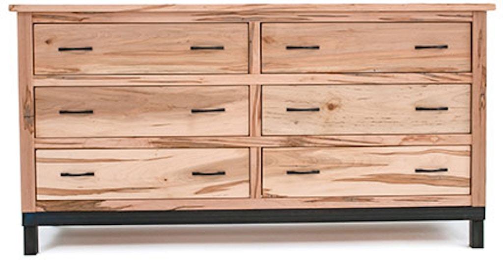 Sbg Living Room Placer Bedroom Drawer Dresser Solid Maple Metal