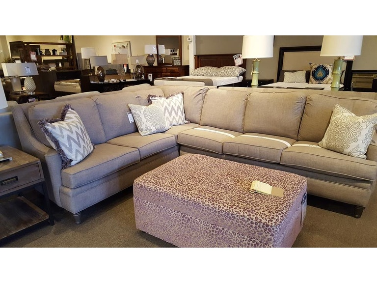 Kent-Variations pick your cushion 2 piece sectional