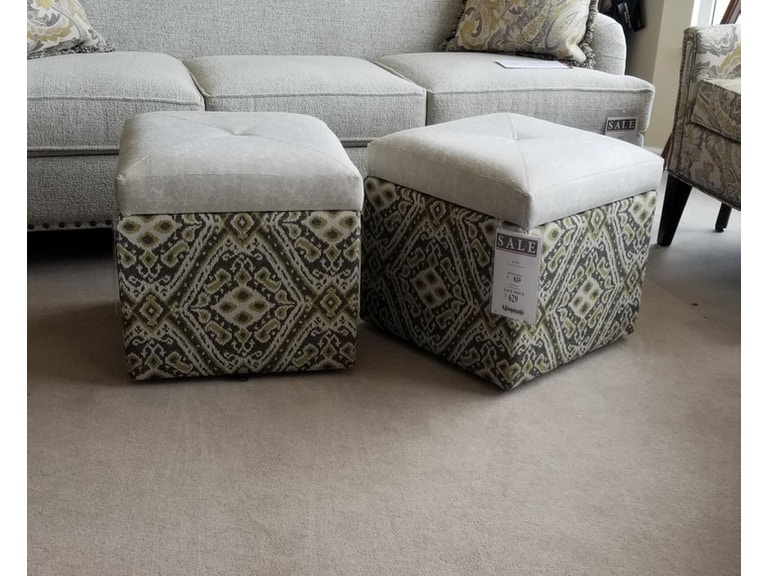Marshfield Furniture Living Room Kates Storage Ottoman As Shown Top