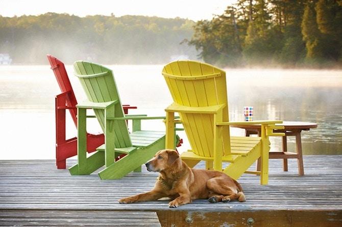 Bon Cr Plastics Adirondack Chair C01