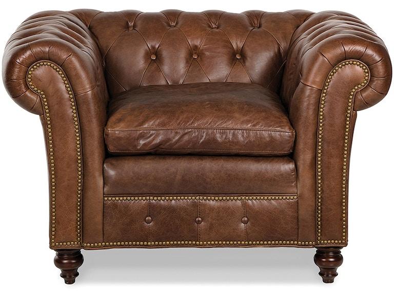 Randall Allan Marley Tufted Chair Ra1097