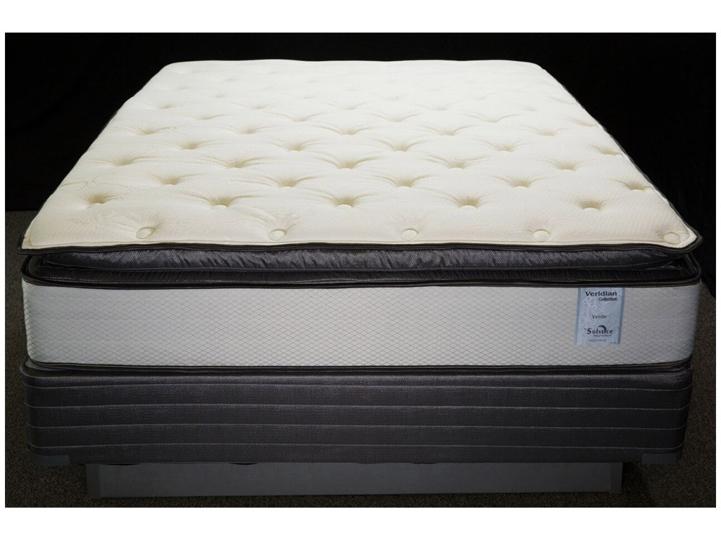 Jamison Mattresses Verde Pillow Top King Mattress Set Brashears Branson Mo Berryville