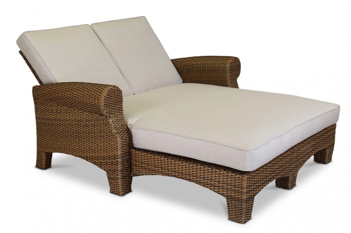 Sunset West Santa Cruz Adjustable Double Chaise 6 Positions Including Flat  SKU: 2201 99