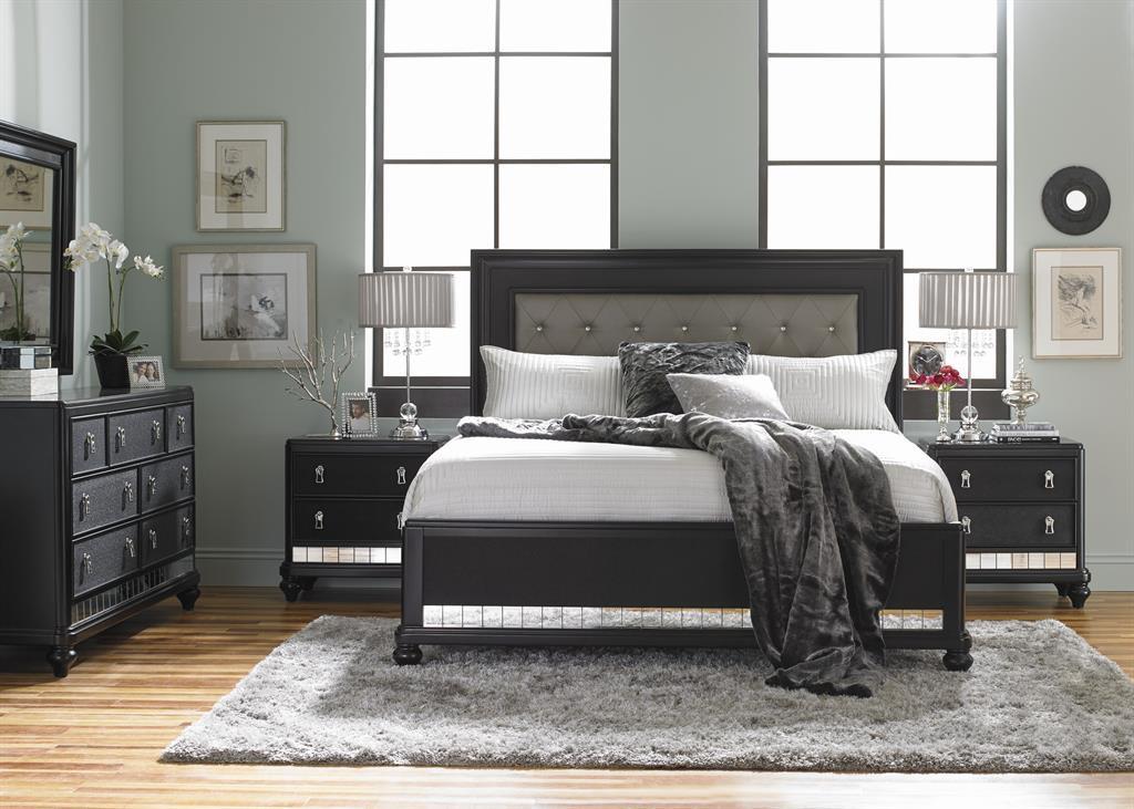 Samuel Lawrence Bedroom Diva Midnight Bed 8809-275 - Cozy ...