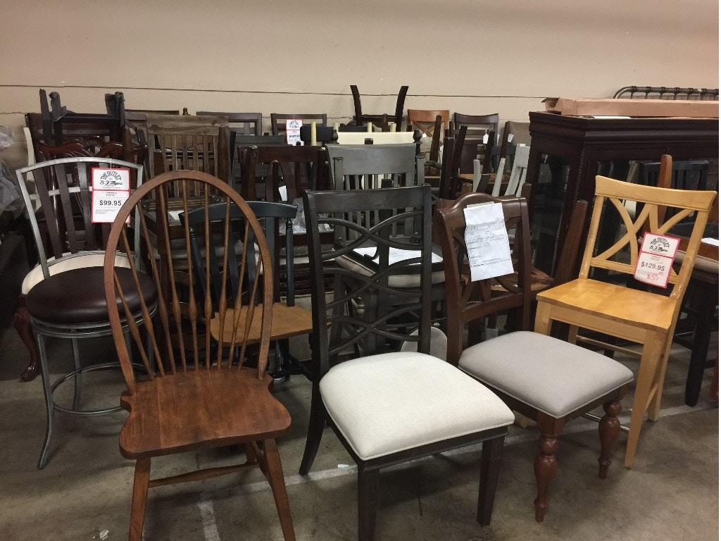 Outlet assorted dining room chairs chair b f