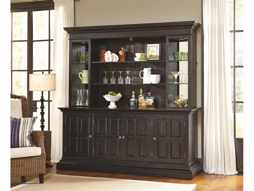 Bon Pulaski Furniture Bar And Game Room Includes Bar Hutch And Back Piers  (Excludes Bar Base) 675904