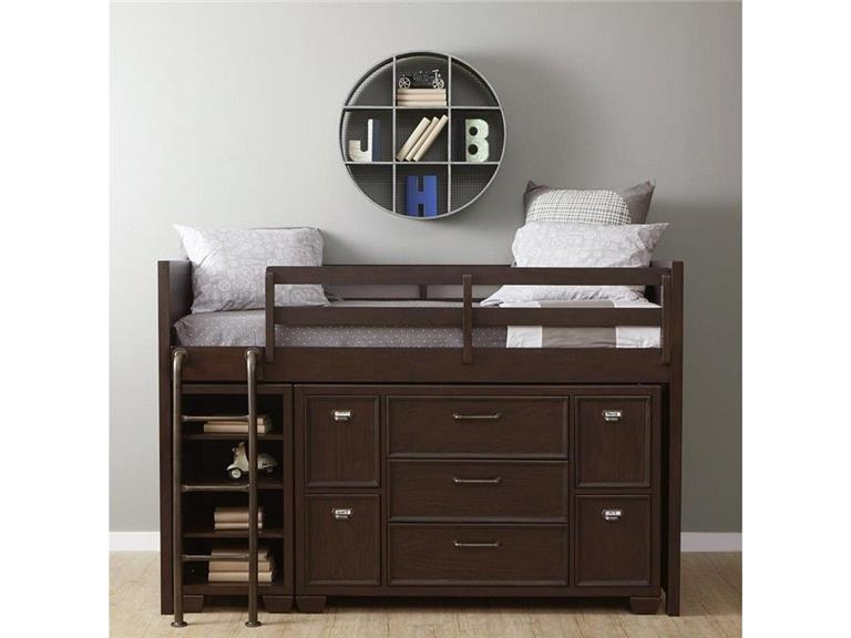 samuel lawrence as shown loft bed wdr and bkcs - Samuel Lawrence Furniture
