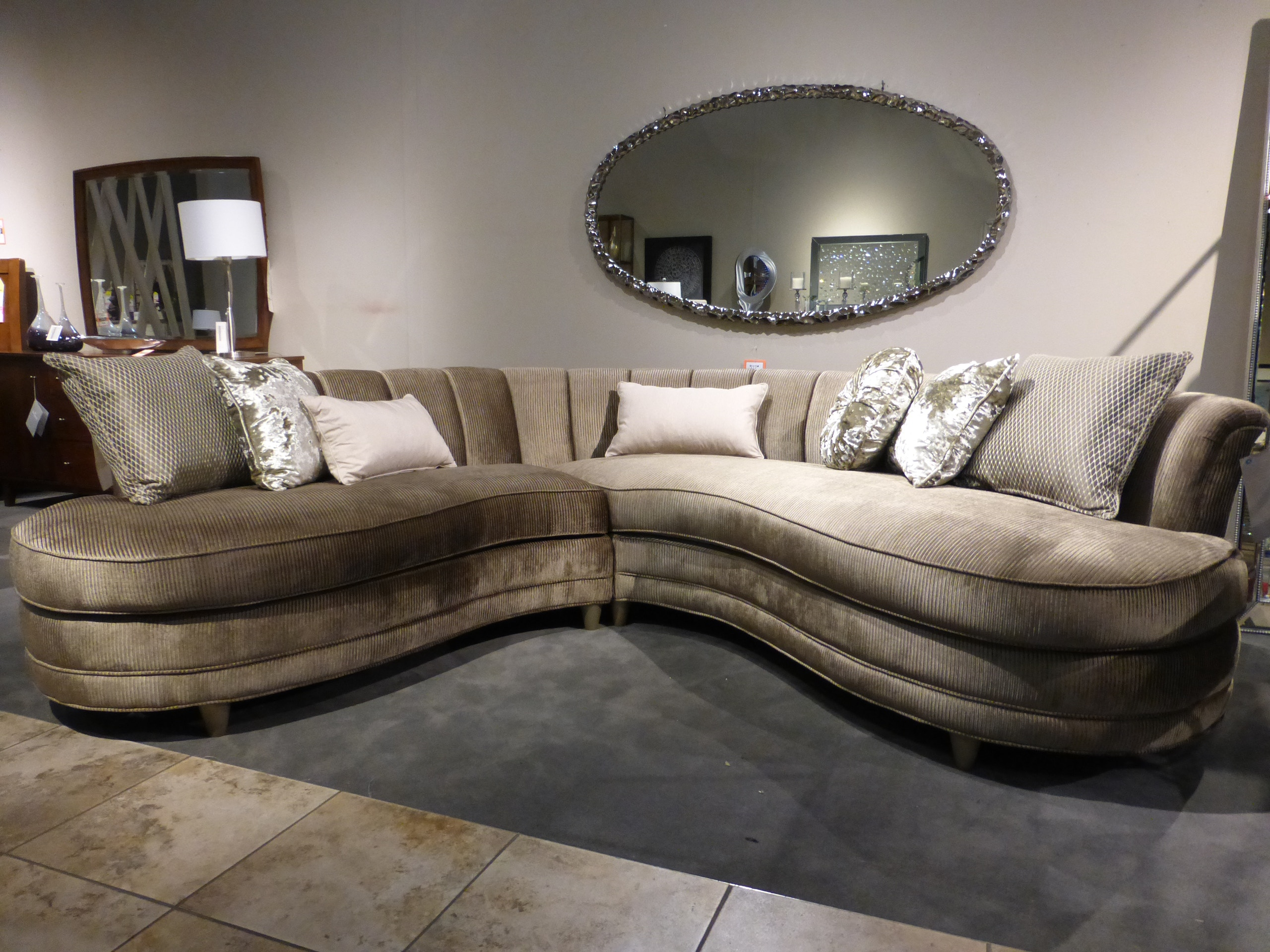 Charming Magnussen Home Living Room Magnussen Furniture Two Piece Rosslyn Sectional  U4066 2PC At Carol House Furniture