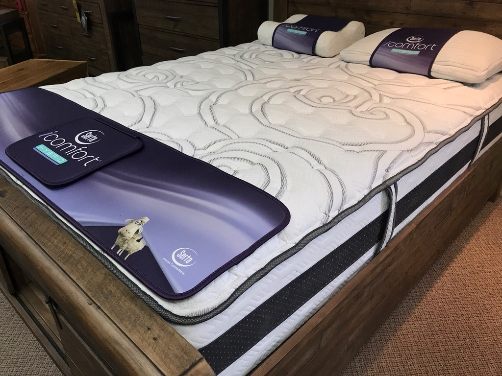 Serta Queen Mattress Boxspring Expertise Firm