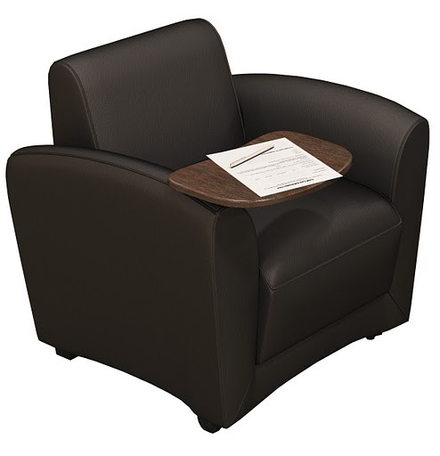 Mayline Home fice Mobile Tablet Chair Santa Cruz Series