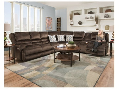 Franklin The Grand Slam Has It All This Customizable Sectional Is Upholstered In A Plush