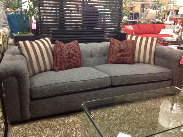 Bernhardt Interiors Living Room Sofa 104 N6357 Floor