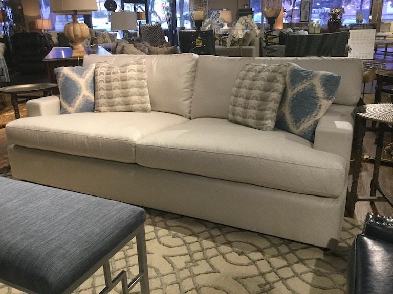 Bernhardt Living Room Ryden Sofa N7387 FEAT NATURAL At Charter Furniture