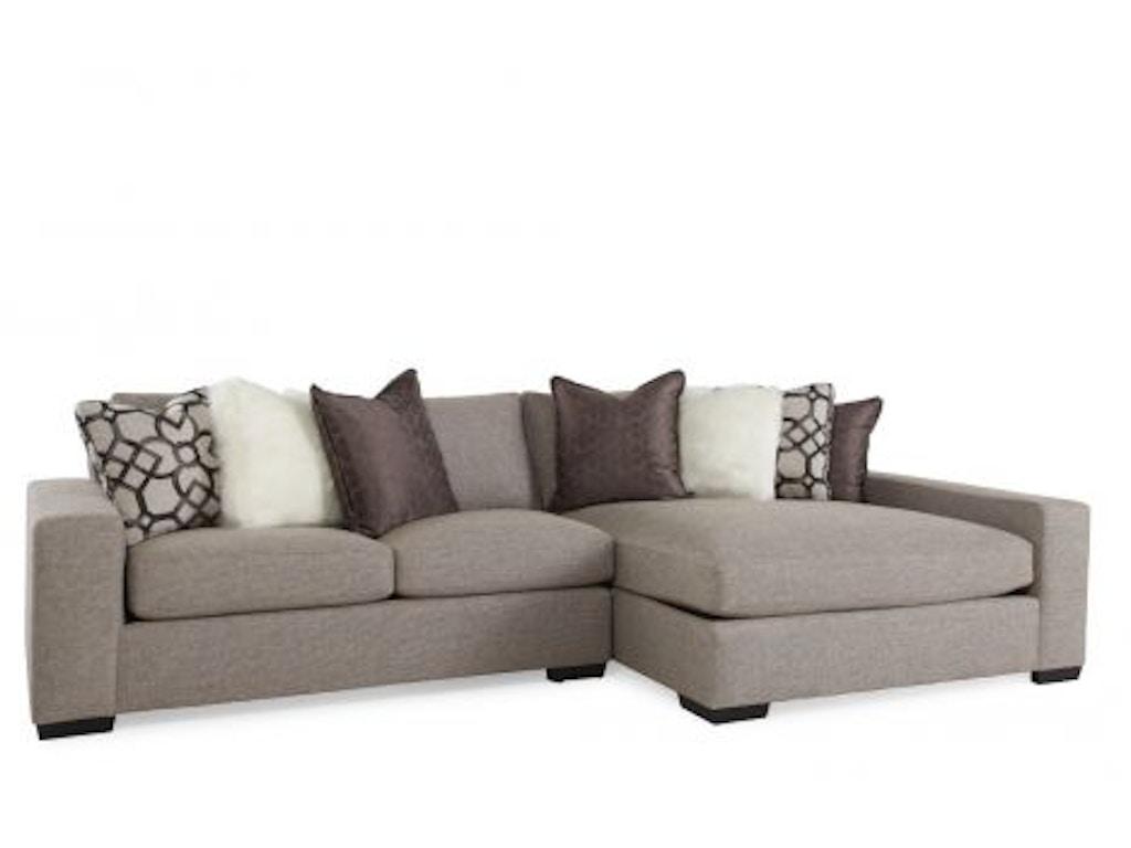 Bernhardt Living Room Orlando Sectional TYP0052 - Charter ...