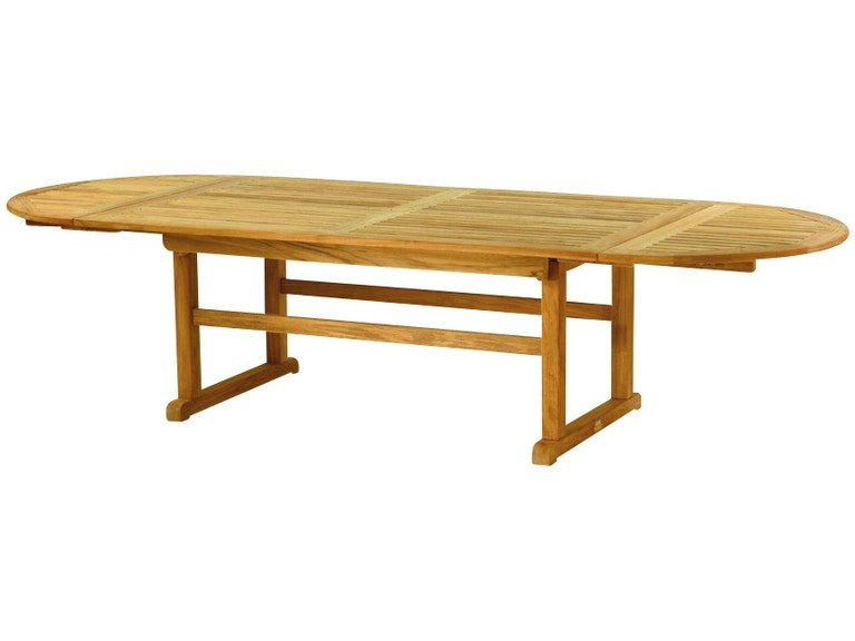 Kingsley Bate 122 X 46 Oval Extension Dining Table With Removable Leaves And Extra