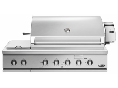 "DCS DCS 48"" Traditional Grill with Rotisserie & Side Burners BH1-48RS-L"