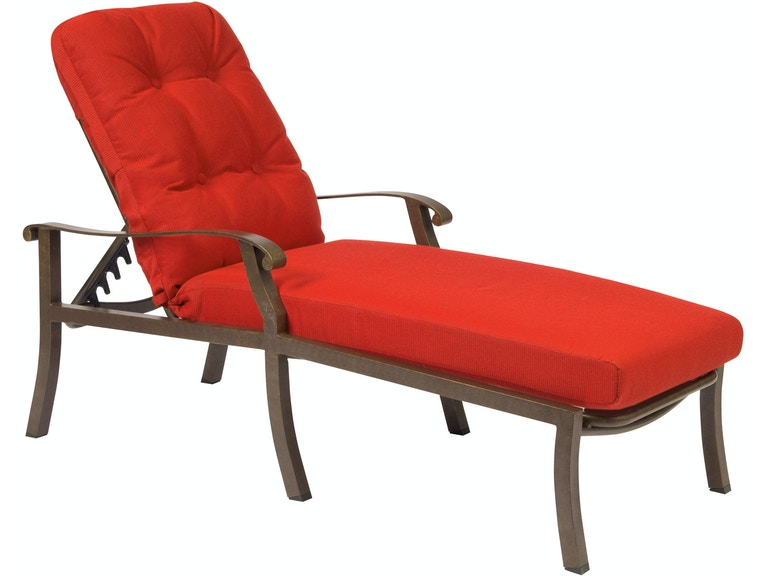 Woodard Outdoor Patio Adjustable Chaise Lounge 4zm470 Turner Home