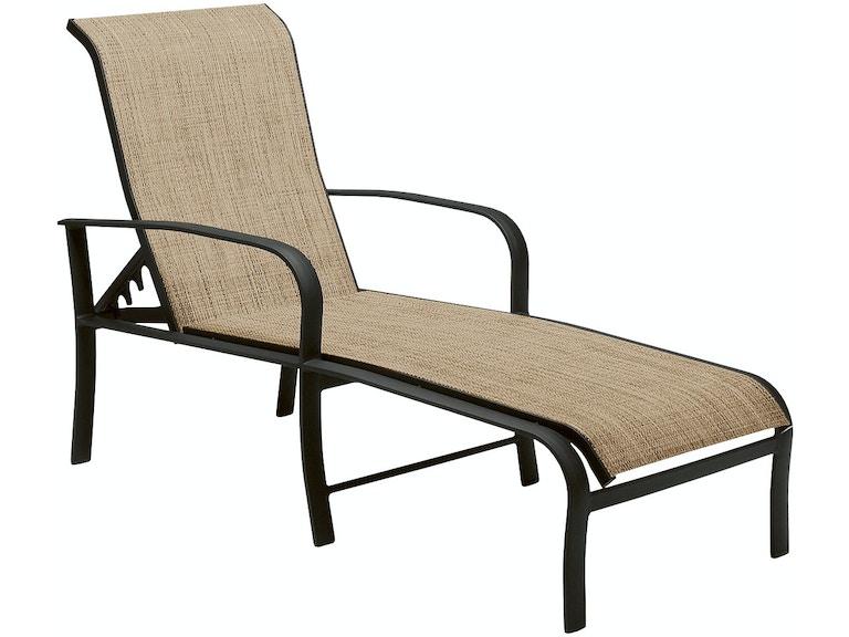 Woodard Sling Patio Furniture.Woodard Outdoor Patio Adjustable Chaise Lounge 2ph470 Turner Home