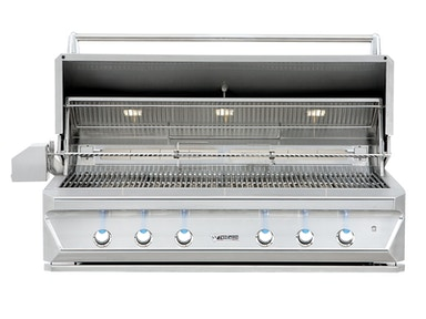 "Twin Eagles Twin Eagles 54"" Built-In Gas Grill with Dual Rotisserie TEBQ54RS-B"