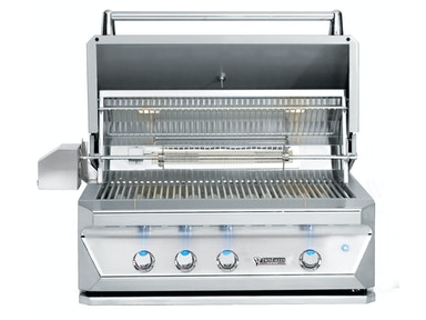 "Twin Eagles Twin Eagles 36"" Built-In Gas Grill with Rotisserie TEBQ36R-B"