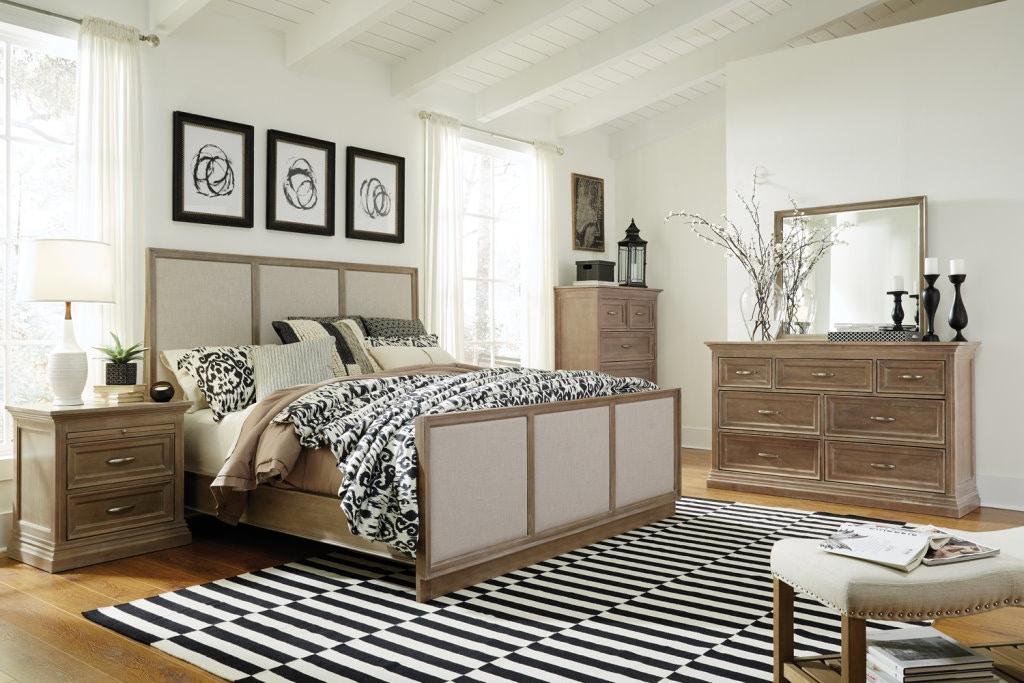 5 Piece Solid Wood Sonoma Bedroom Set